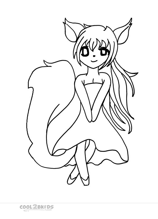 Printable chibi coloring pages for kids cool2bkids for Cute chibi coloring pages