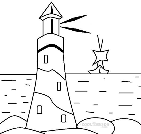 printable coloring pages lighthouses - photo#15
