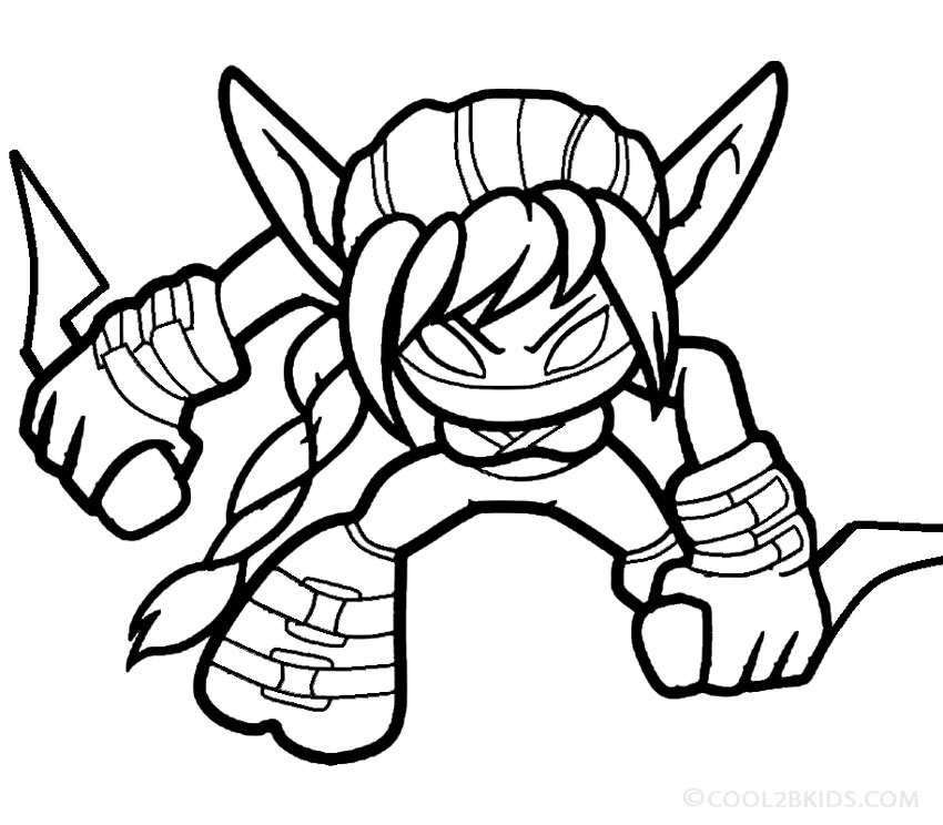 skylanders giants coloring pages | Printable Skylander Giants Coloring Pages For Kids ...