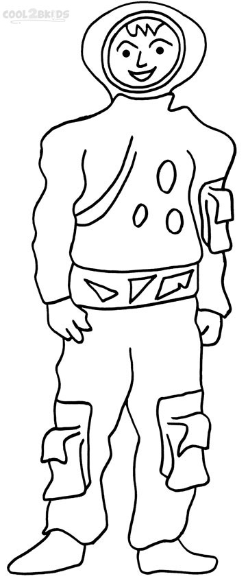 Printable Astronaut Coloring Pages For Kids | Cool2bKids