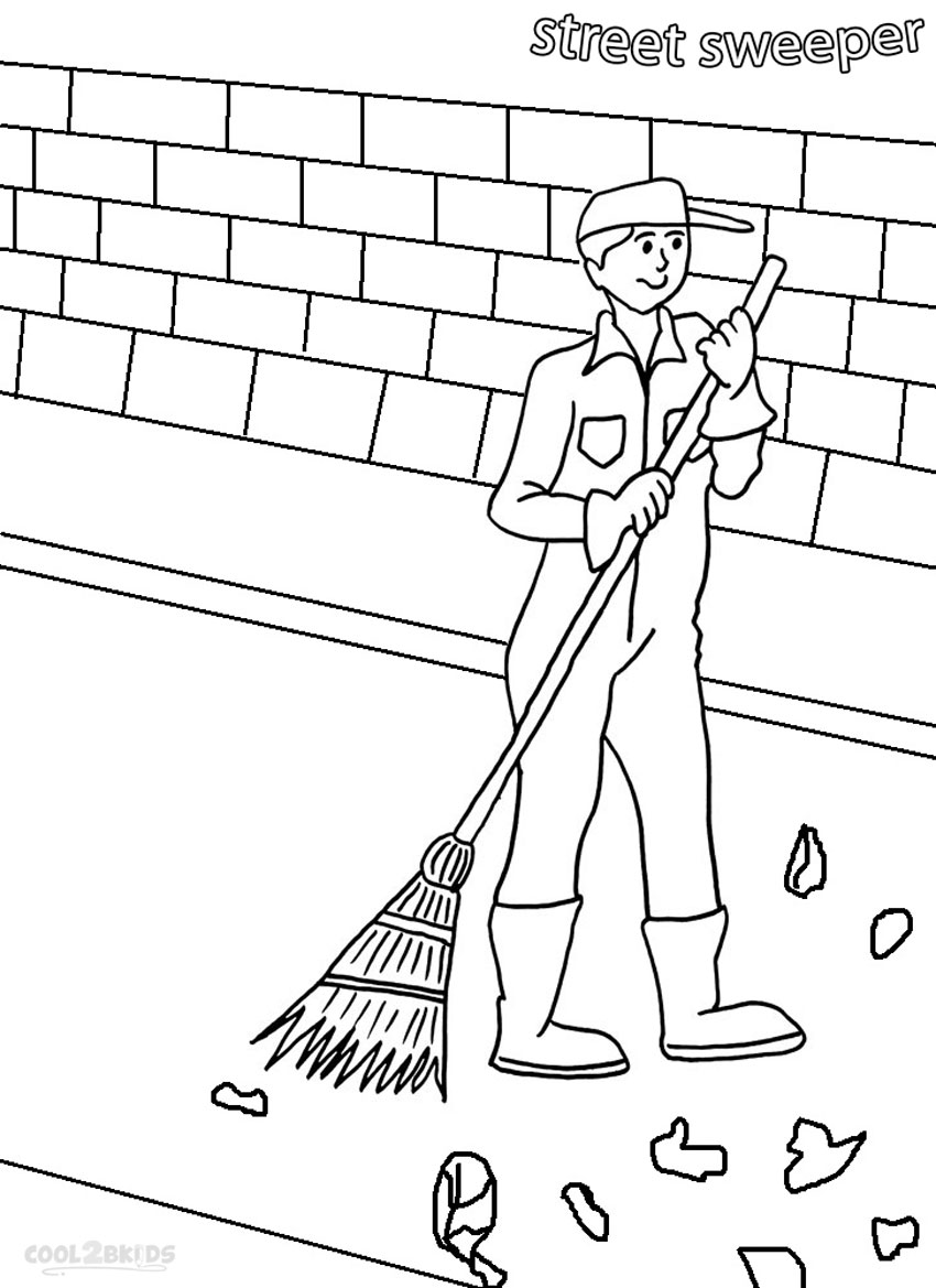community helpers coloring pages printable sketch coloring page