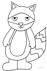 Printable Raccoon Coloring Pages For Kids Cool2bKids