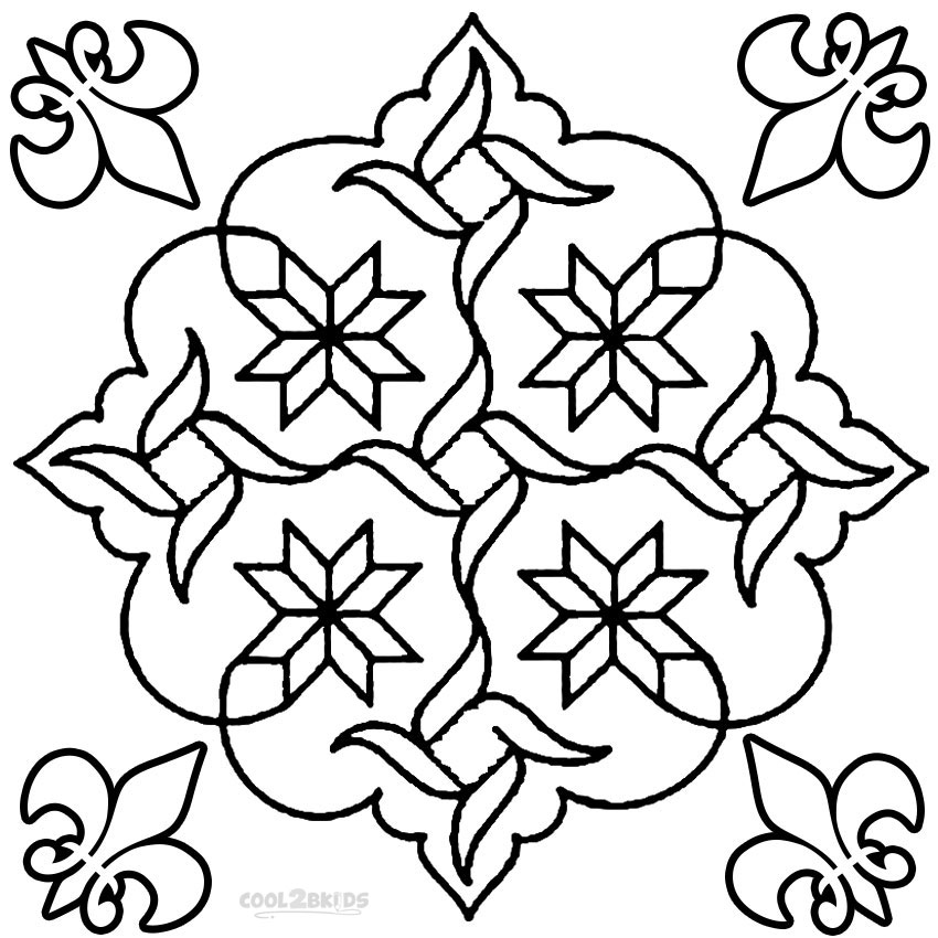 disigns coloring pages - photo#19
