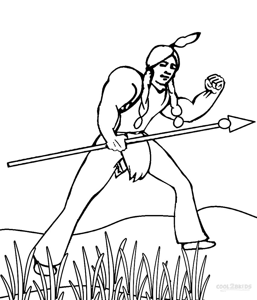 Printable Hunting Coloring Pages