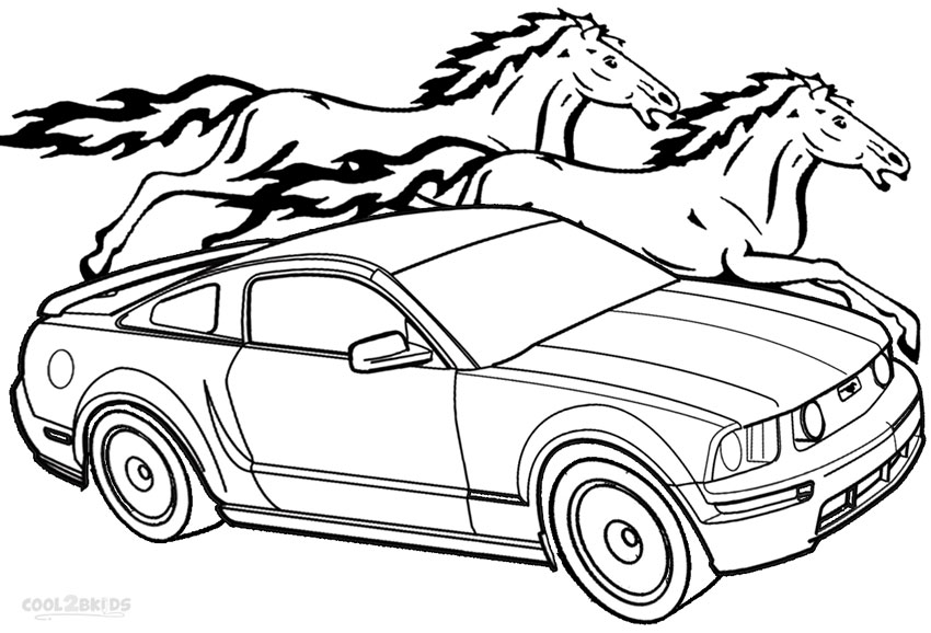 ford vehicle printable coloring pages - photo#47