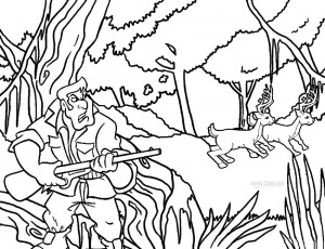 printable coloring pages sports hunting - photo#7