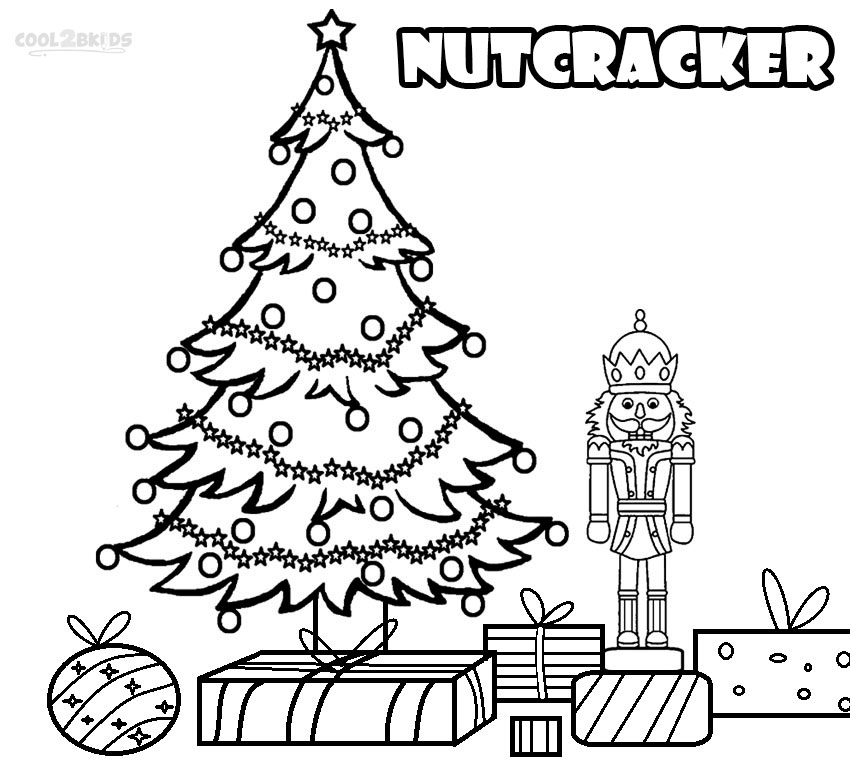 Page: Printable Nutcracker Coloring Pages For Kids