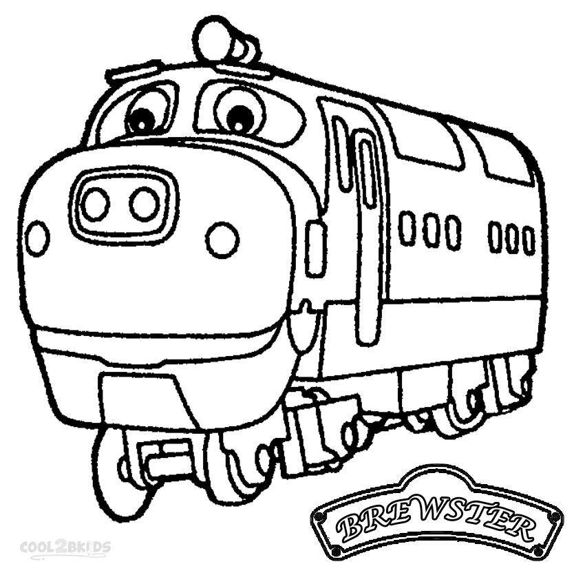 Chuggington coloring pages online ~ Printable Chuggington Coloring Pages For Kids | Cool2bKids