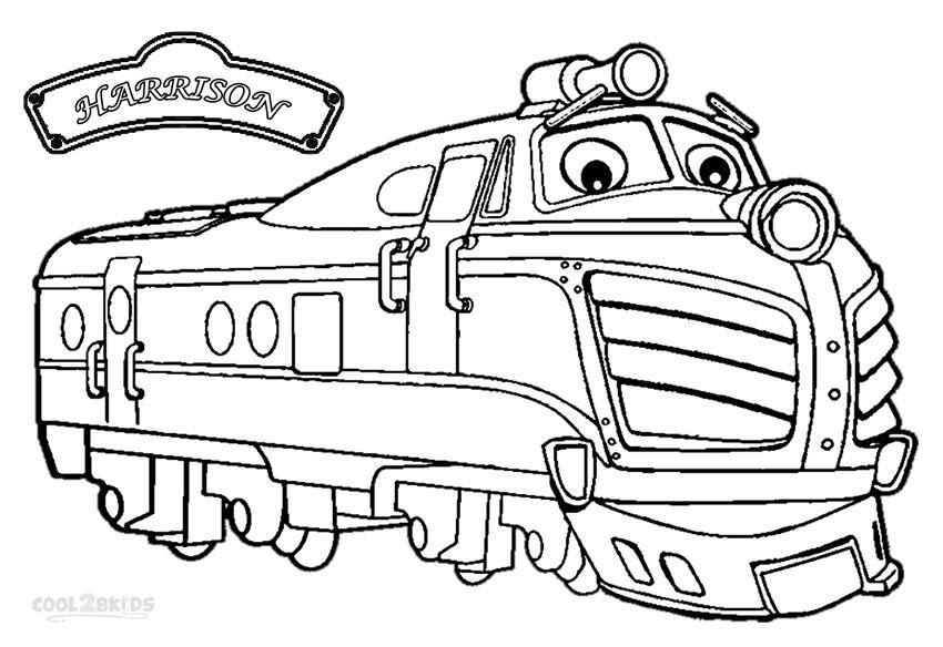 Printable Chuggington Coloring Pages For Kids Cool2bkids Chuggington Coloring Pages