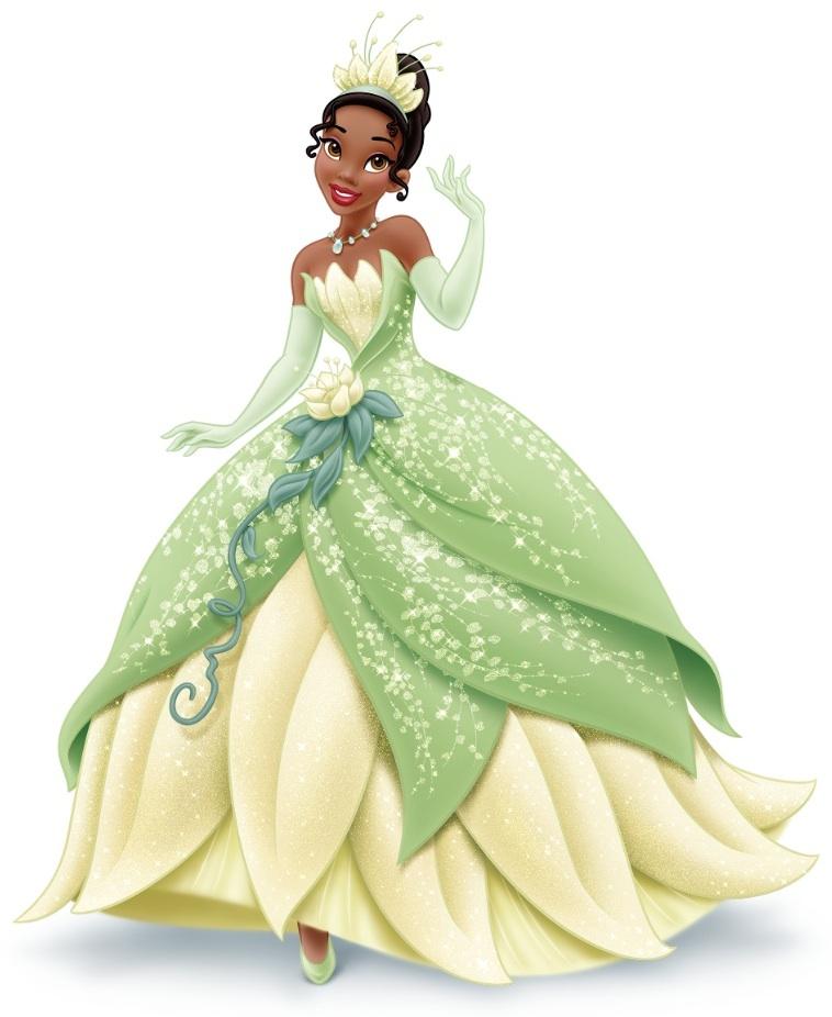 Printable Princess Tiana Coloring