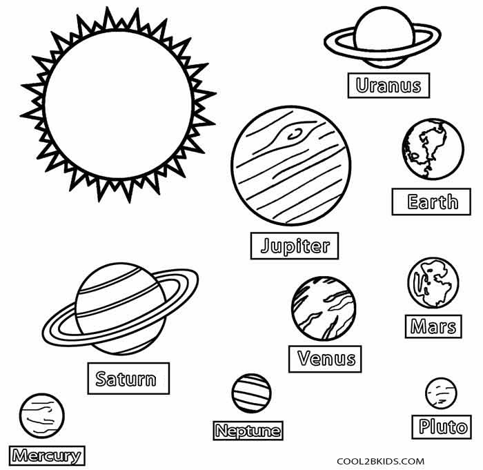 printable coloring pages of planets | Printable Planet Coloring Pages For Kids | Cool2bKids