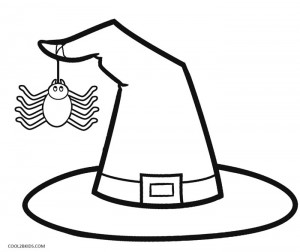 Terrible image pertaining to witch hat printable