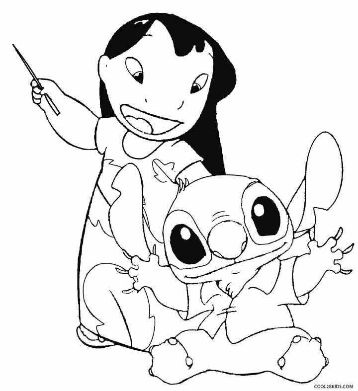Printable Lilo and Stitch Coloring
