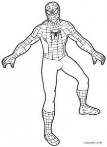 Printable Spiderman Coloring Pages For Kids | Cool2bKids