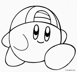 nintendo kirby coloring pages - photo#21