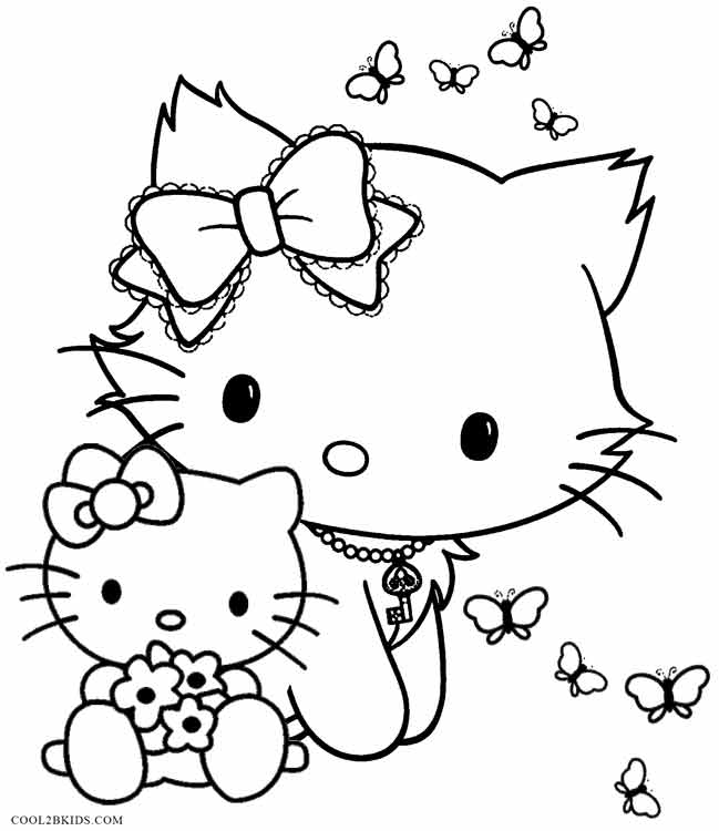 Printable funny coloring pages for kids cool2bkids for Coloring pages for girls