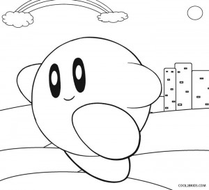 Printable Kirby Coloring Pages