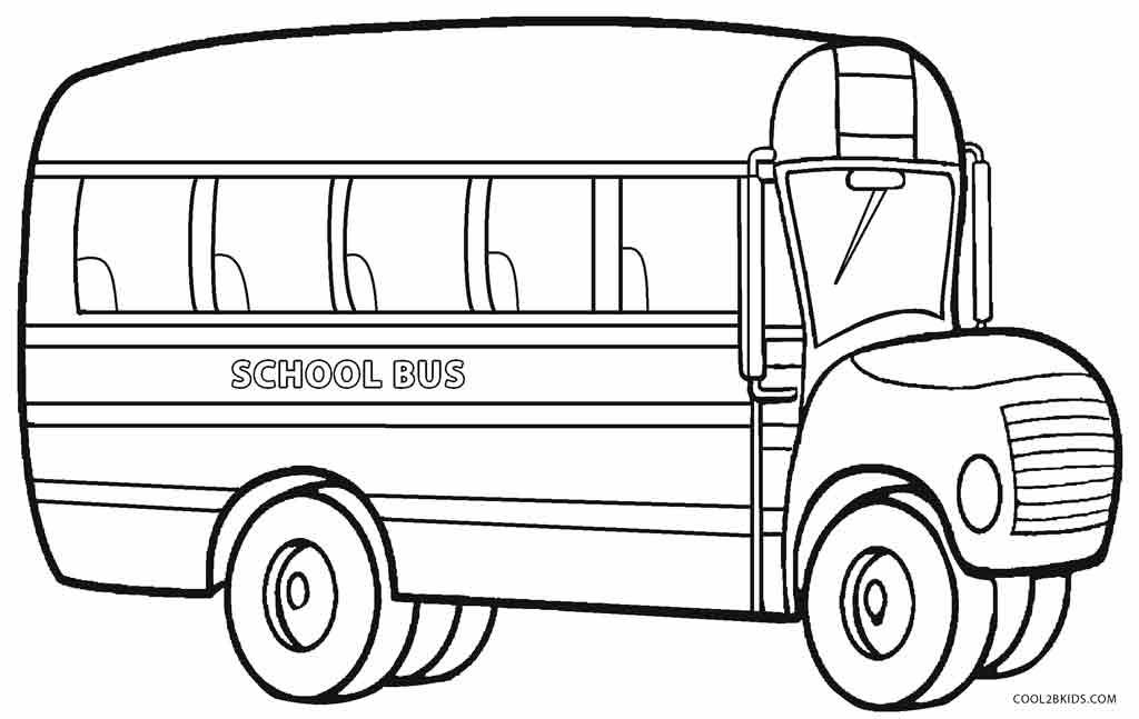 картинки автобусов для раскраски это несмотря