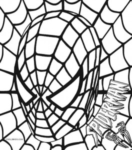 full page coloring pages spiderman 3 | Printable Spiderman Coloring Pages For Kids | Cool2bKids