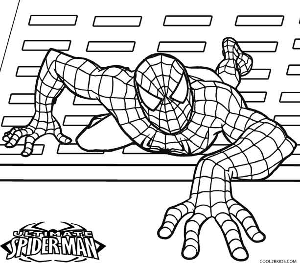spiderman two coloring pages | Printable Spiderman Coloring Pages For Kids | Cool2bKids