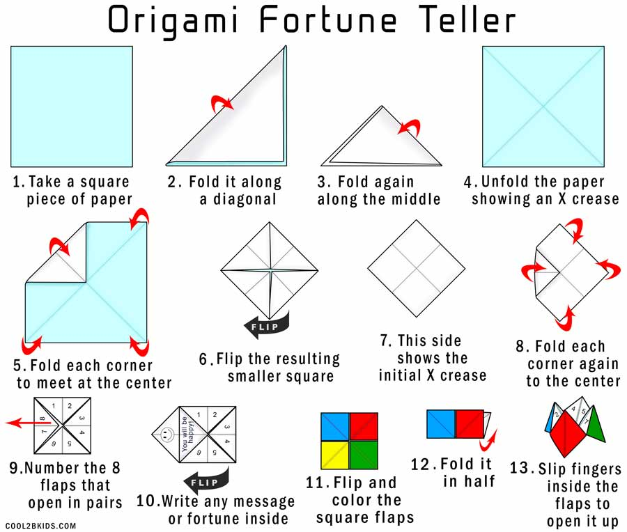 how to make a fortune teller for kids cool2bkids