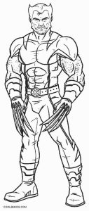 Printable Wolverine Coloring Pages For Kids | Cool2bKids