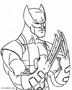 Printable Wolverine Coloring Pages For Kids Cool2bKids