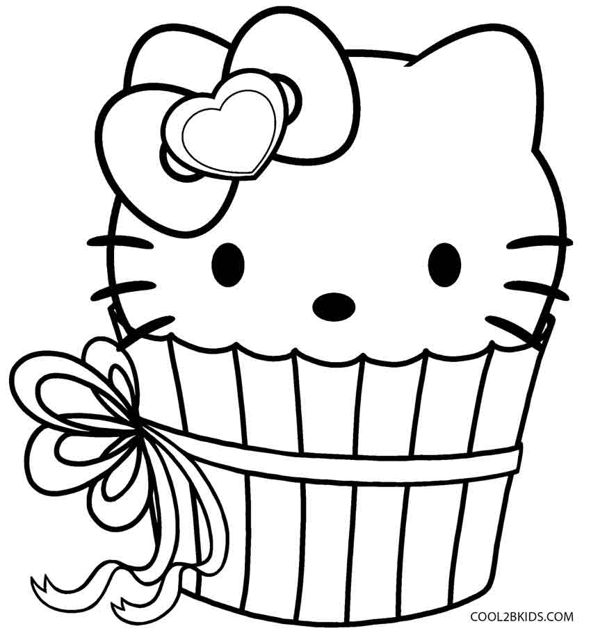 leaf coloring pages images cupcake - photo#49
