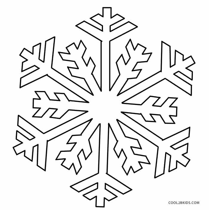 It's just a graphic of Magic Snow Flake Print Outs