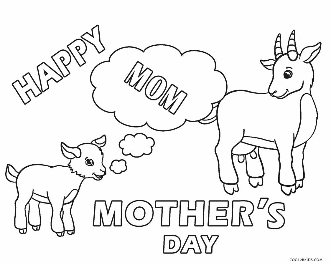 Mothers Day Coloring Pages Kidsuki