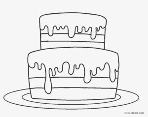 Exceptional image for printable pictures of birthday cakes