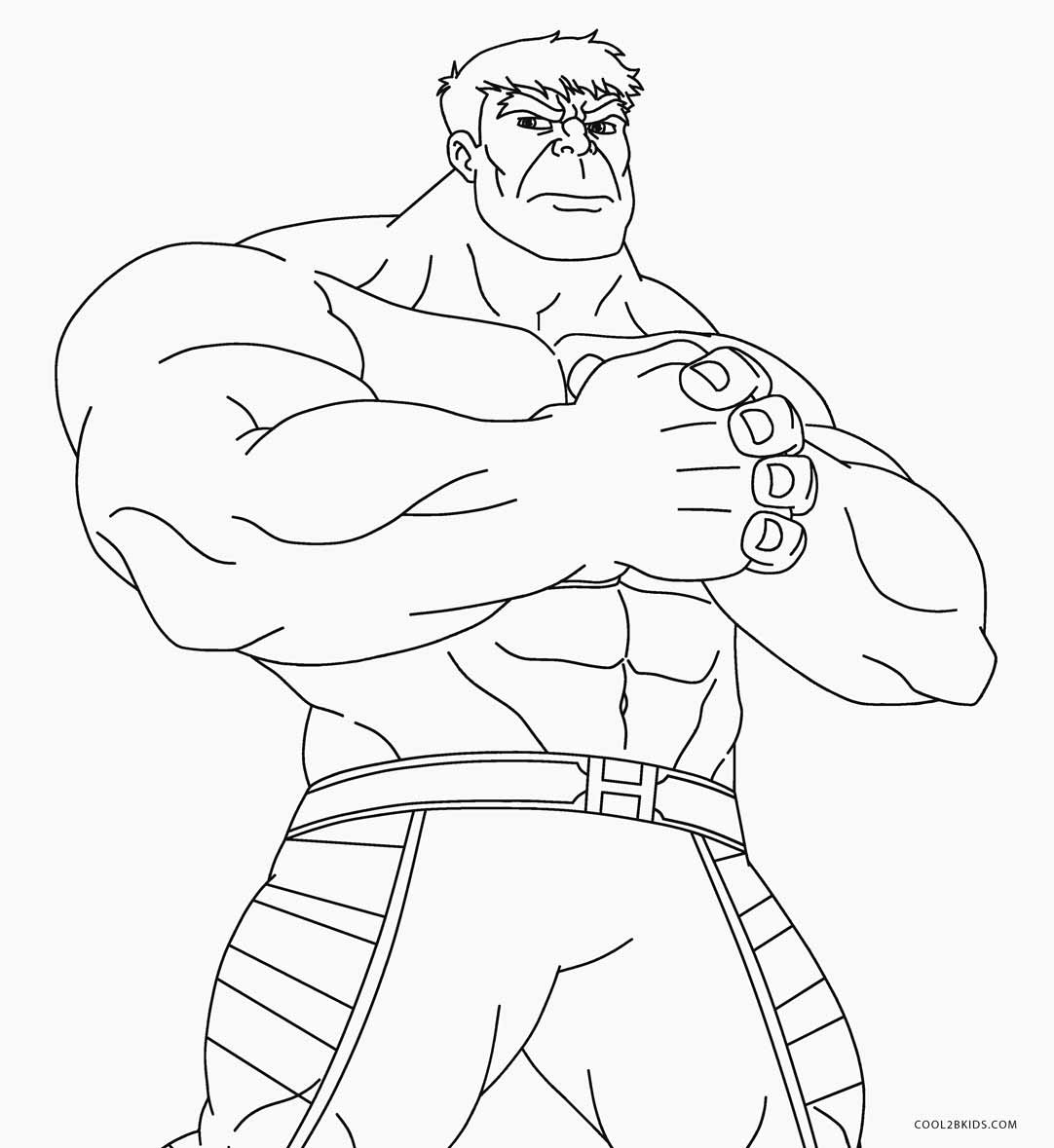 Hulk coloring book pages ~ Free Printable Hulk Coloring Pages For Kids | Cool2bKids