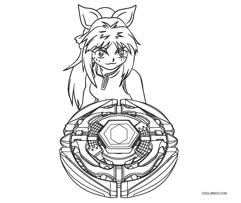 Free Printable Beyblade Coloring Pages For Kids Cool2bkids
