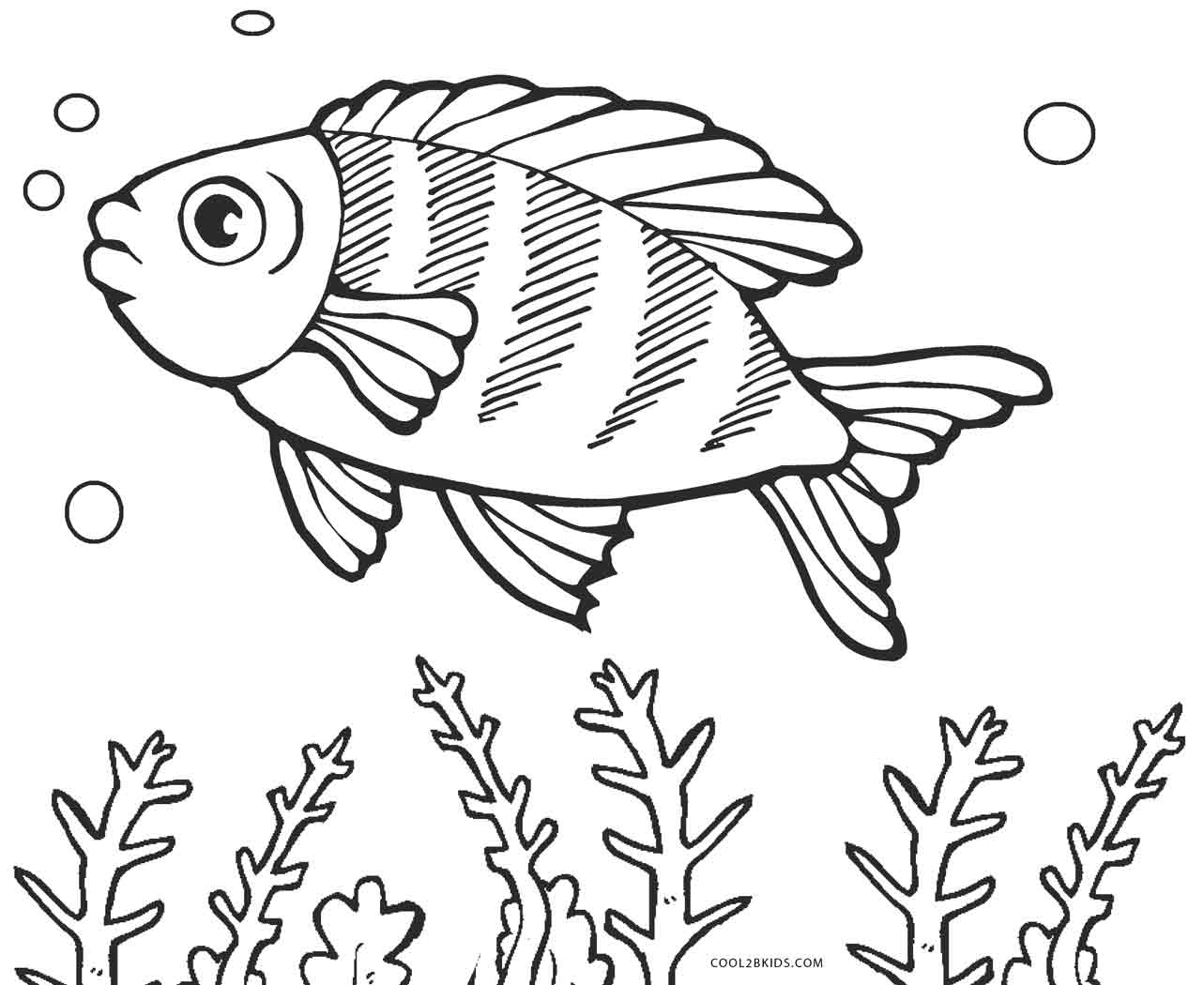 Coloring Pages: Free Printable Fish Coloring Pages For Kids