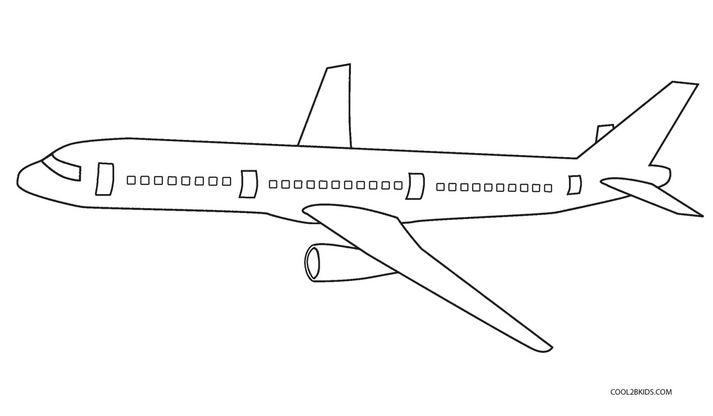 Free Printable Airplane Coloring Pages For Kids Cool2bkids