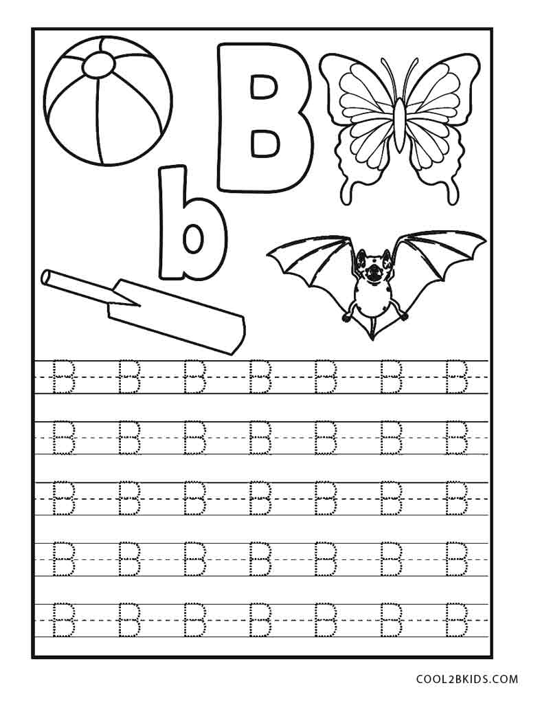 abc free coloring pages - photo#44