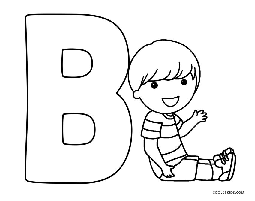Printable Letters Of The Alphabet To Color