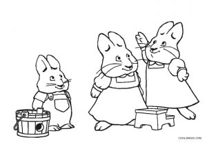 Free Printable Max and Ruby Coloring Pages For Kids ...