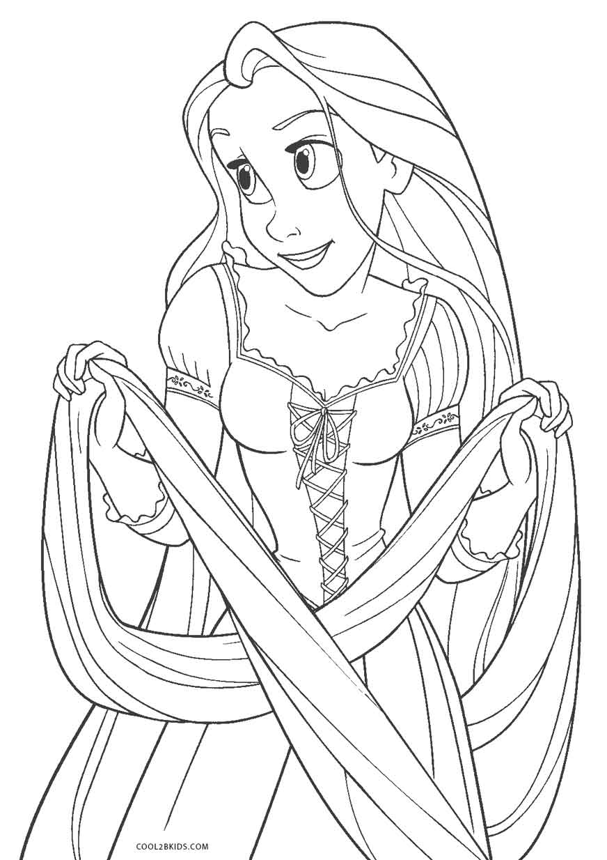 Free Printable Tangled Coloring Pages For Kids | Cool2bKids