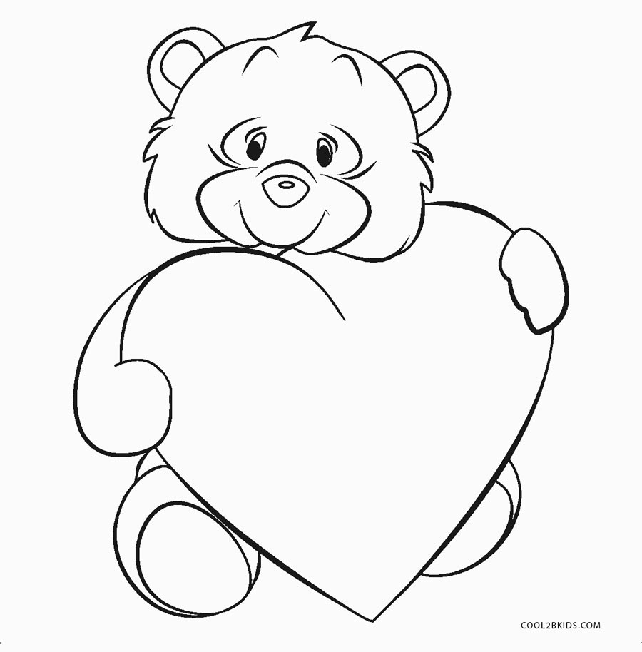 Free Printable Heart Coloring Pages For Kids   Cool2bKids
