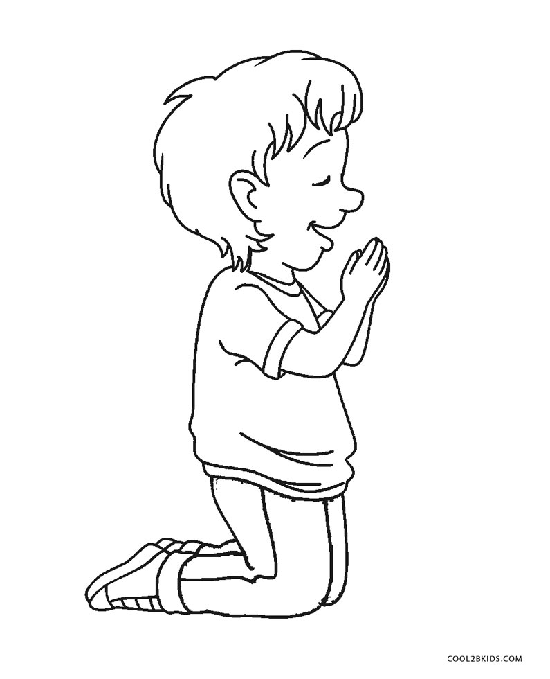 praying boy coloring page free printable boy coloring pages for kids cool2bkids