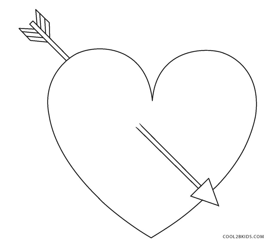free heart coloring pages online - photo#20