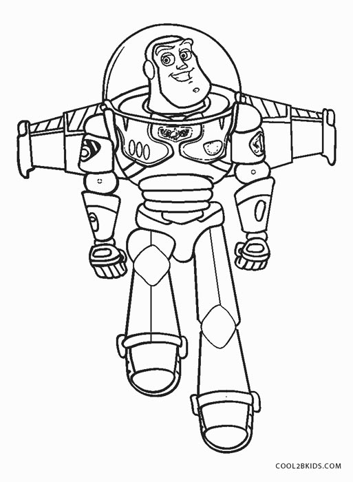 It's just a picture of Stupendous Buzz Lightyear Coloring