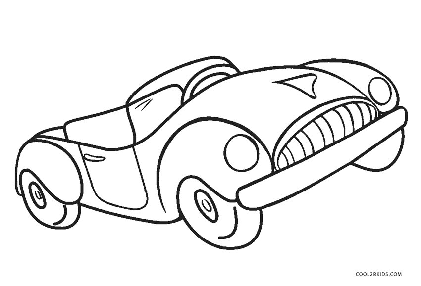 Free Printable Cars Coloring Pages For Kids | Cool2bKids