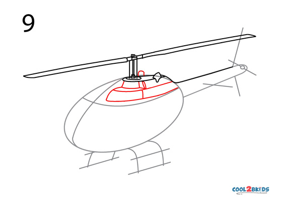 How to Draw a Helicopter (Step by Step Pictures)   Cool2bKids