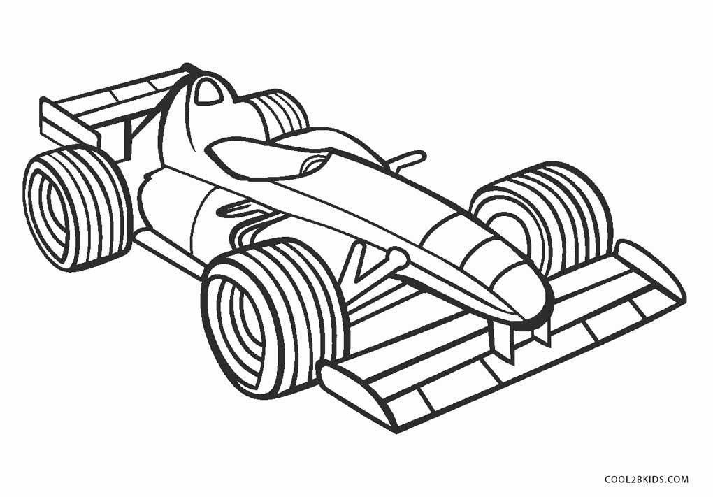 kid coloring car pages - photo#35