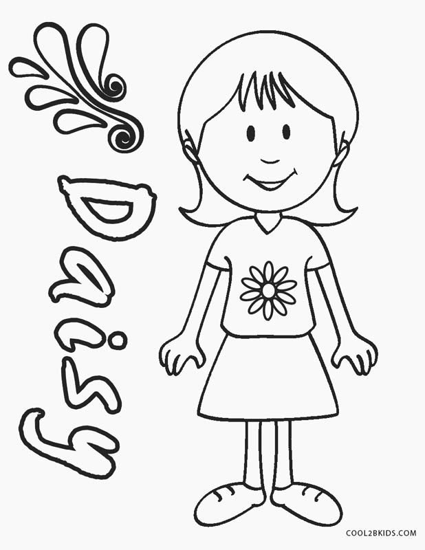 Free Printable Girl Scout Coloring