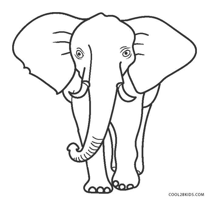 free printable elephant coloring pages for kids cool2bkids. Black Bedroom Furniture Sets. Home Design Ideas