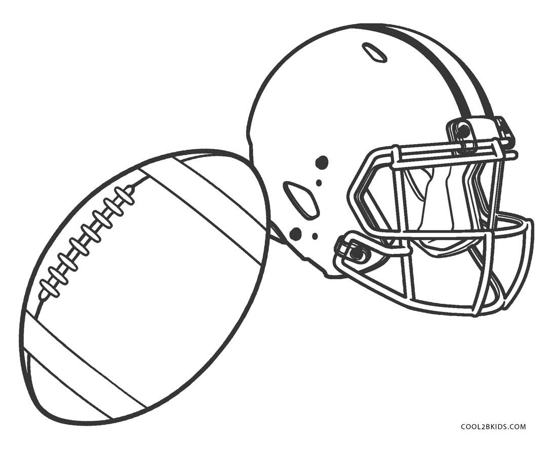 printable coloring pages football - photo#31