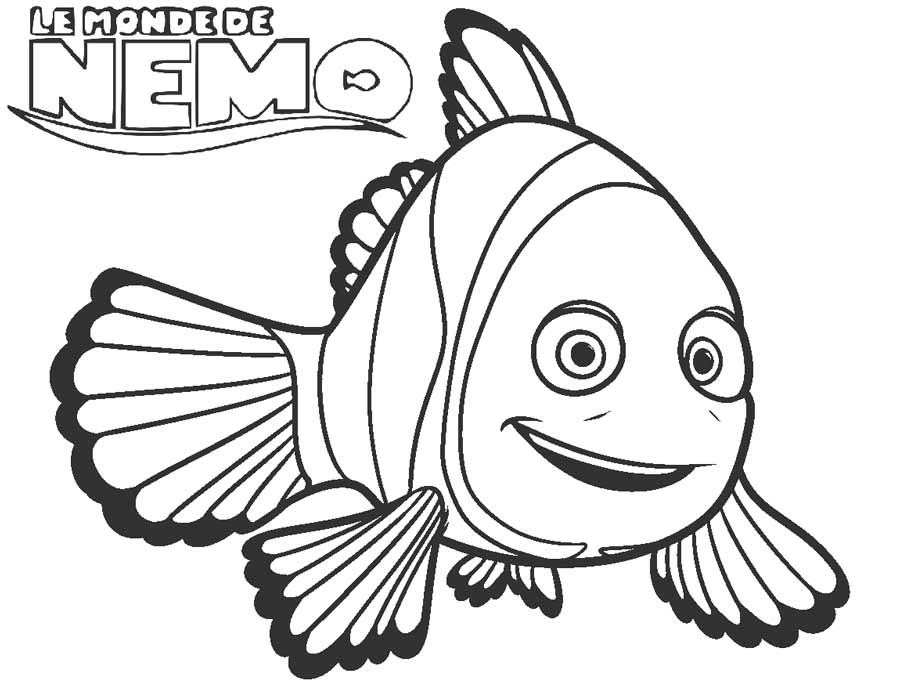 Free Printable Nemo Coloring Pages For Kids Cool2bkids
